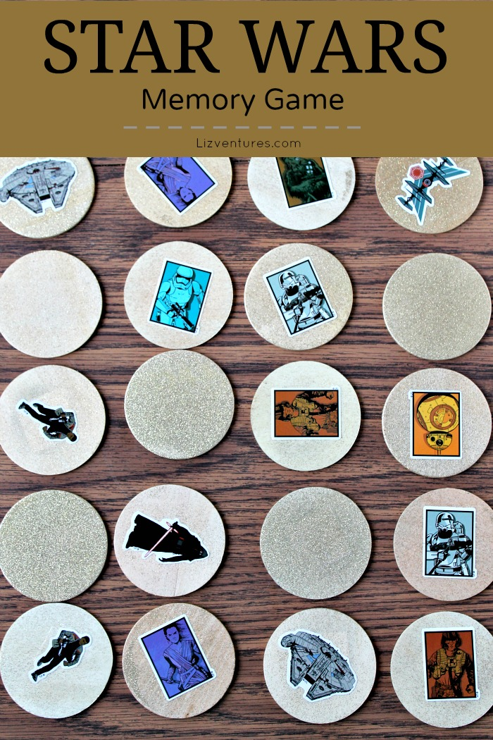 How to make a Star Wars memory game
