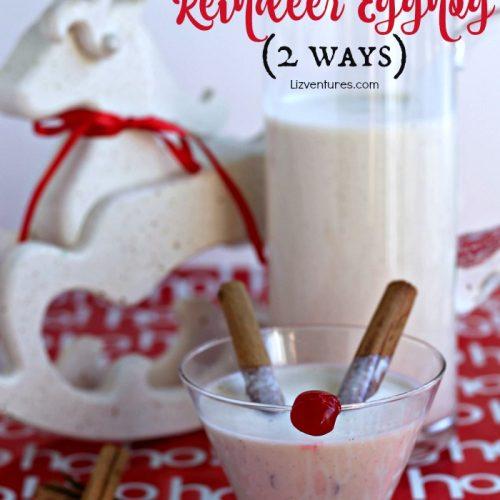 Eggnog and Reindeer