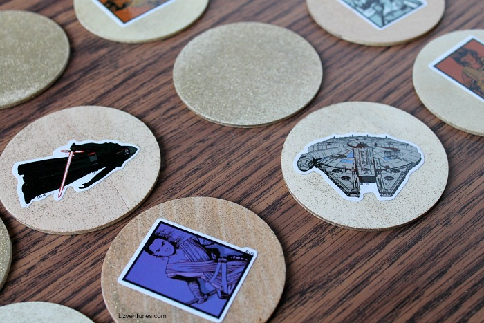 how_to_make a star wars memory game