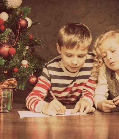 children making wishlist