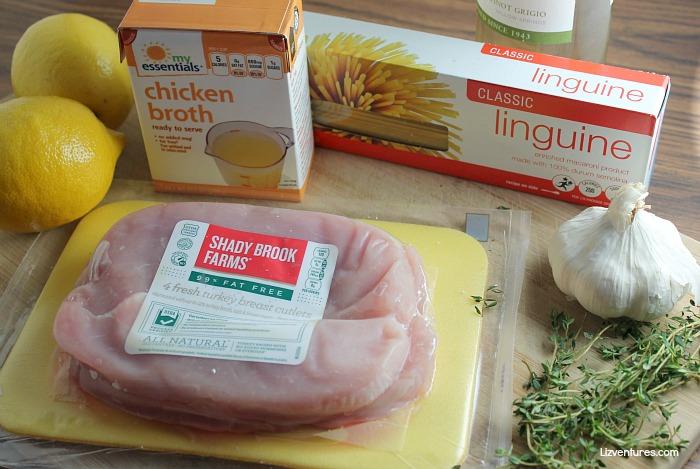 ingredients for turkey piccata