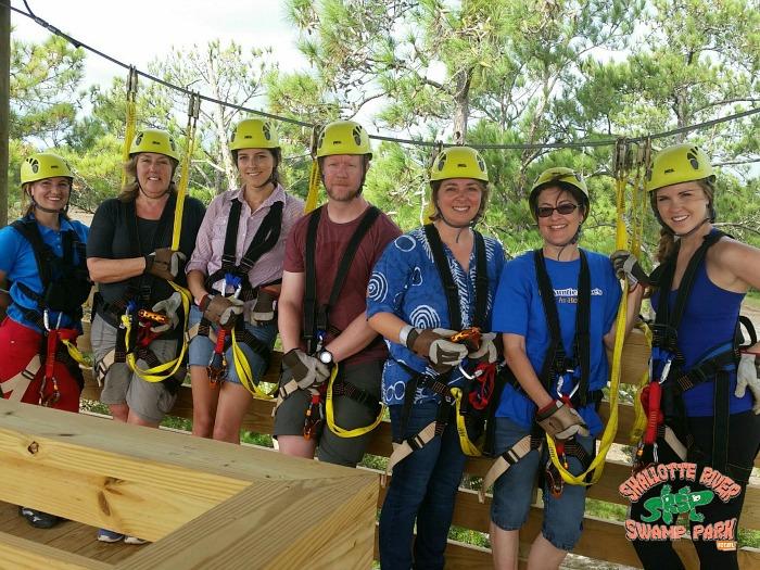 zipline tour - Shallotte River Swamp Park