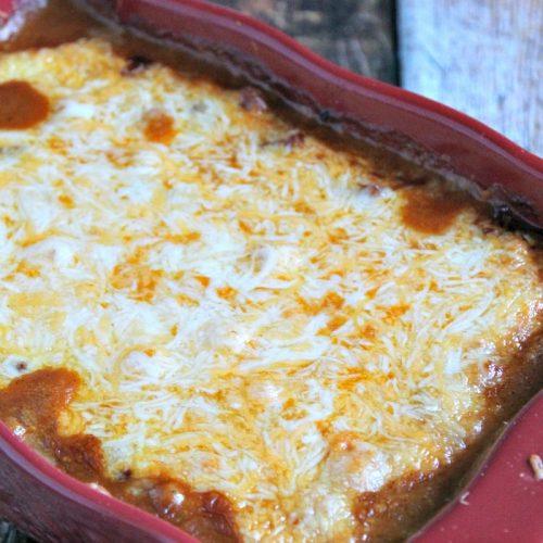 cheesy taco dip