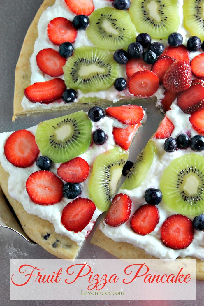fruit pizza pancake