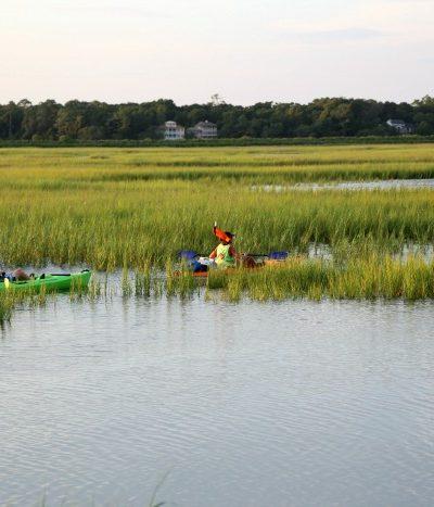 Kayak and Marsh
