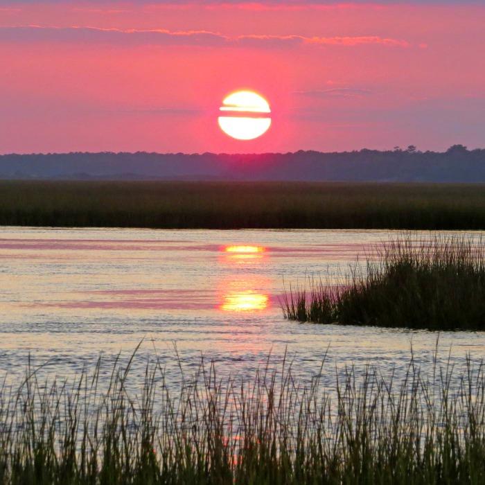 Marsh sunset - NCBI