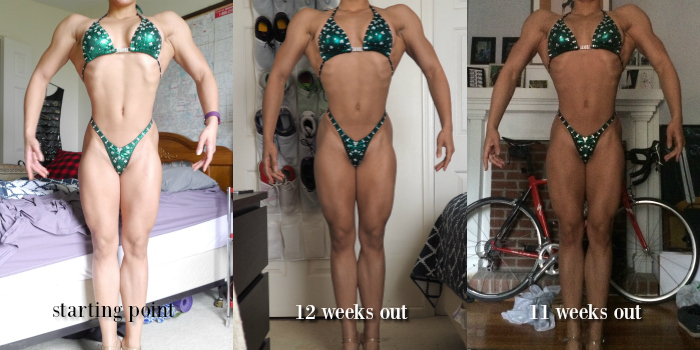 Pro Prep Diaries 12-11 weeks