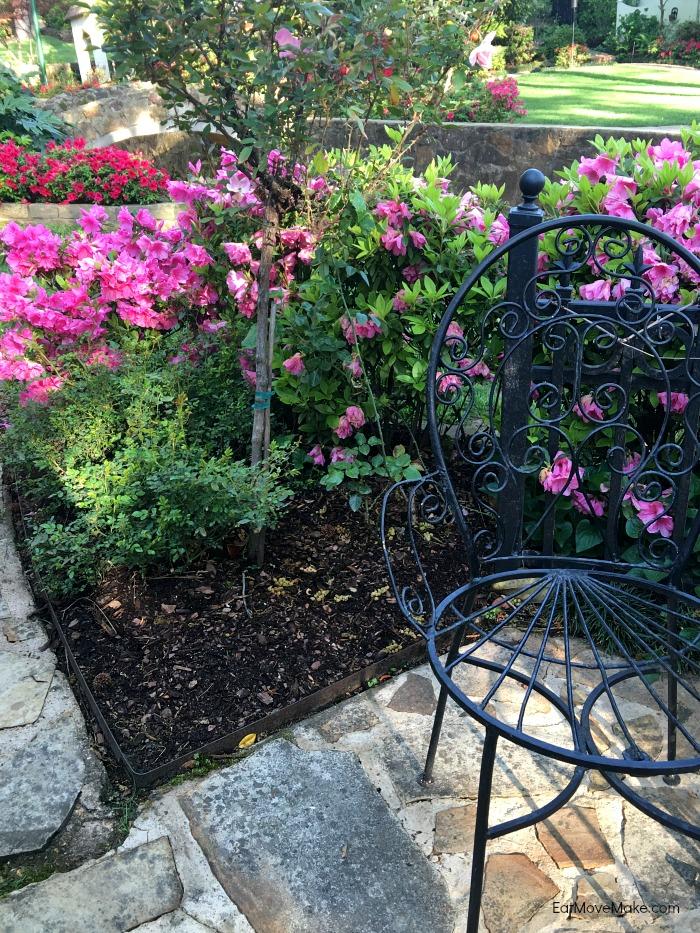 Pyron Garden in Tyler Texas