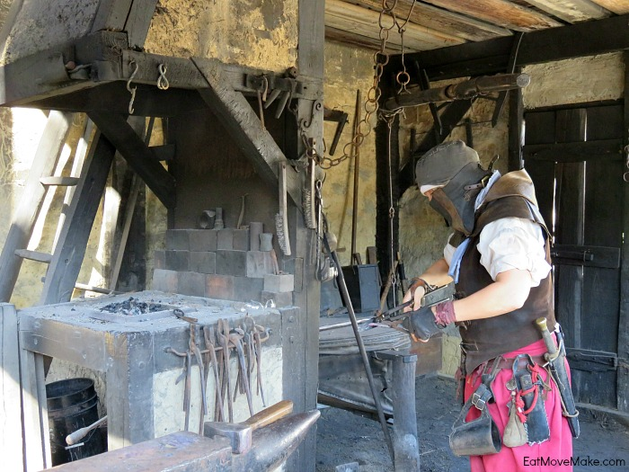 Smolkin blacksmith - Roanoke Island Festival Park