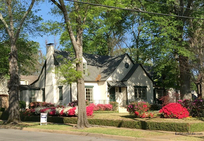historic home on Azalea Trail Tyler TX