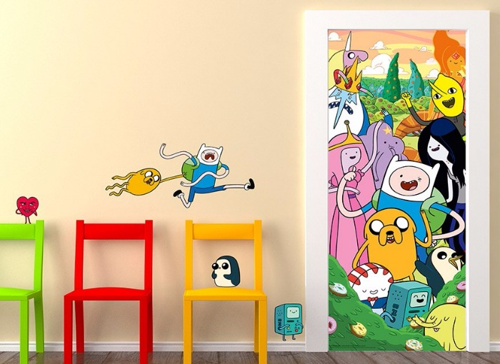 Adventure Time wall decals - wall stickers - Wall-Ah