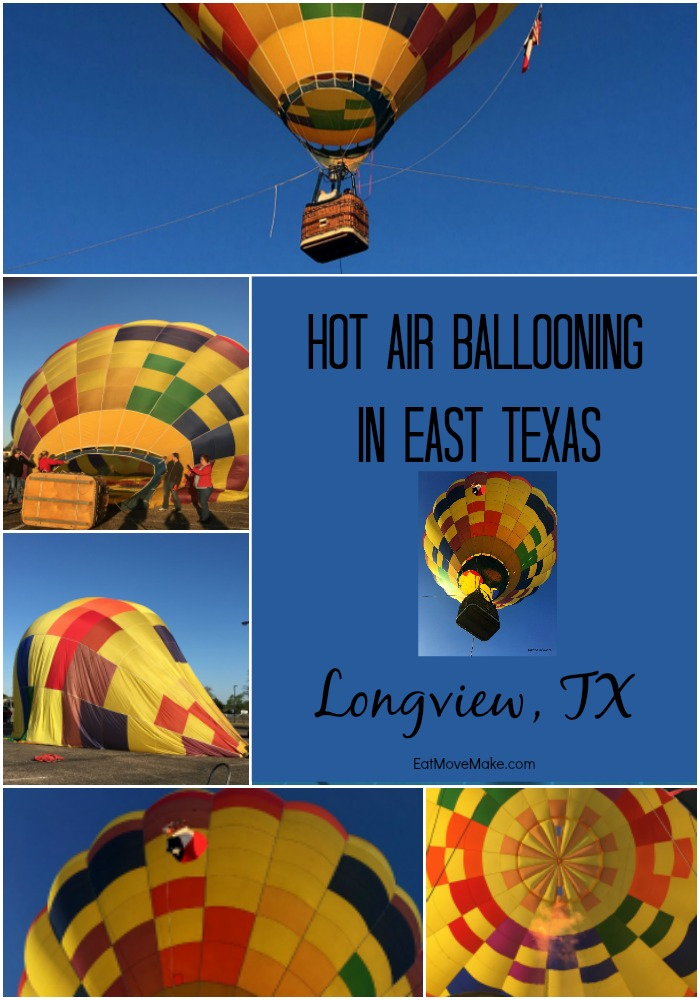 Hot Air Balloon Rides in Longview Texas