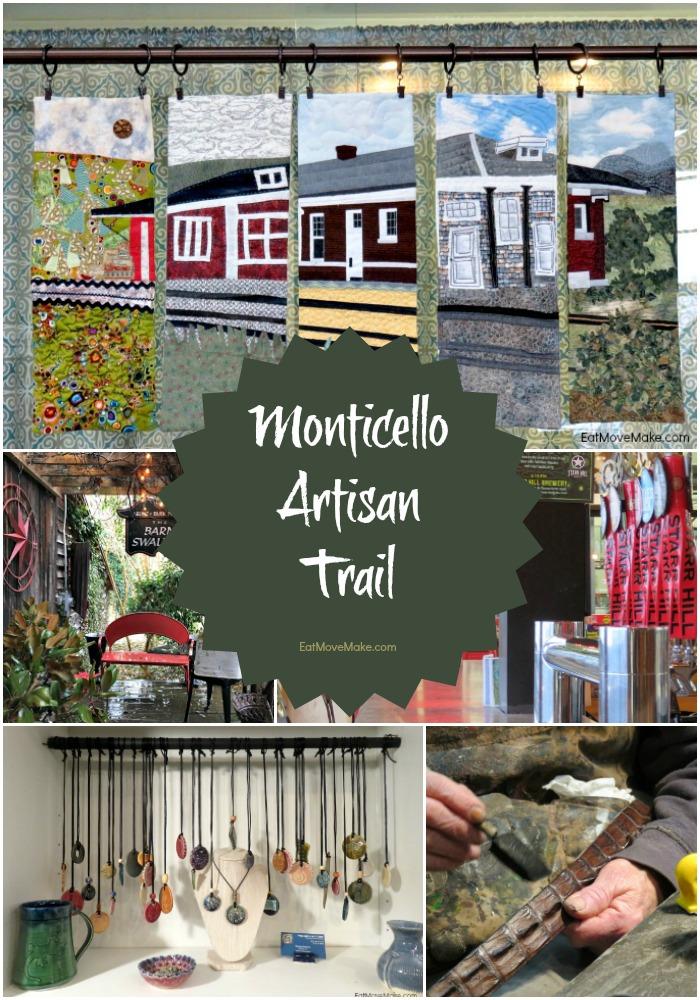 Monticello Artisan Trail poster