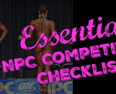 essential NPC competition checklist poster