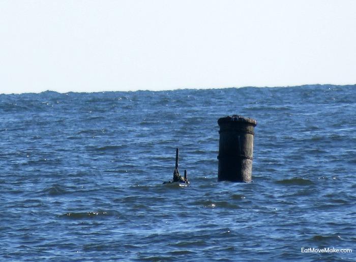 Oriental shipwreck - boiler - Pea Island nc