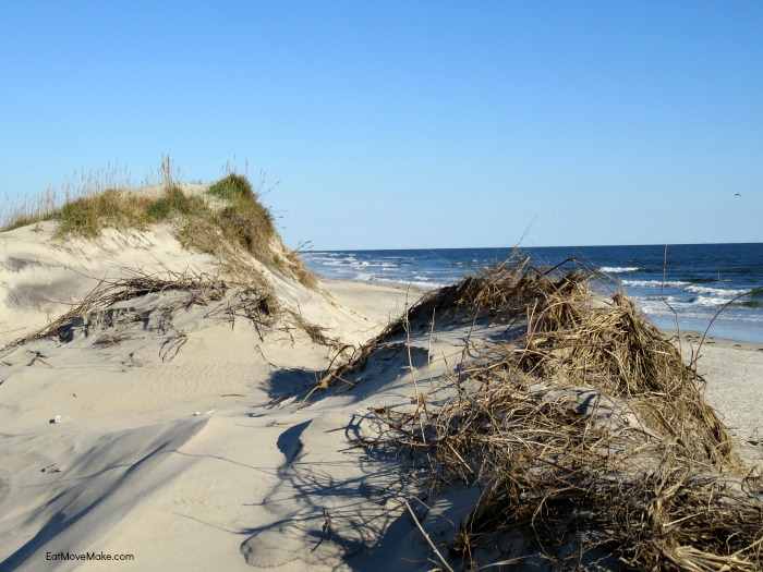 Pea Island National Wildlife Refuge Beach Access, Dunes