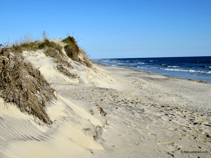Pea Island National Wildlife Refuge beach