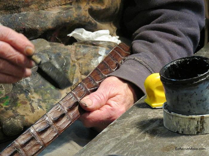 Pinnell Leather custom belt