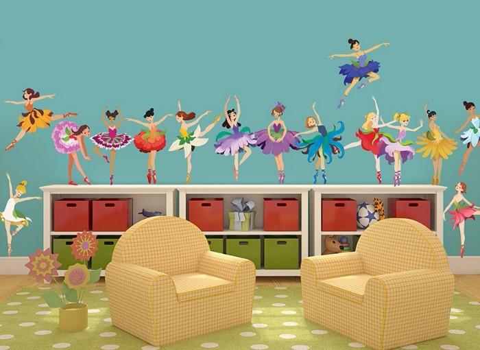 ballerina wall stickers - Wall-Ah