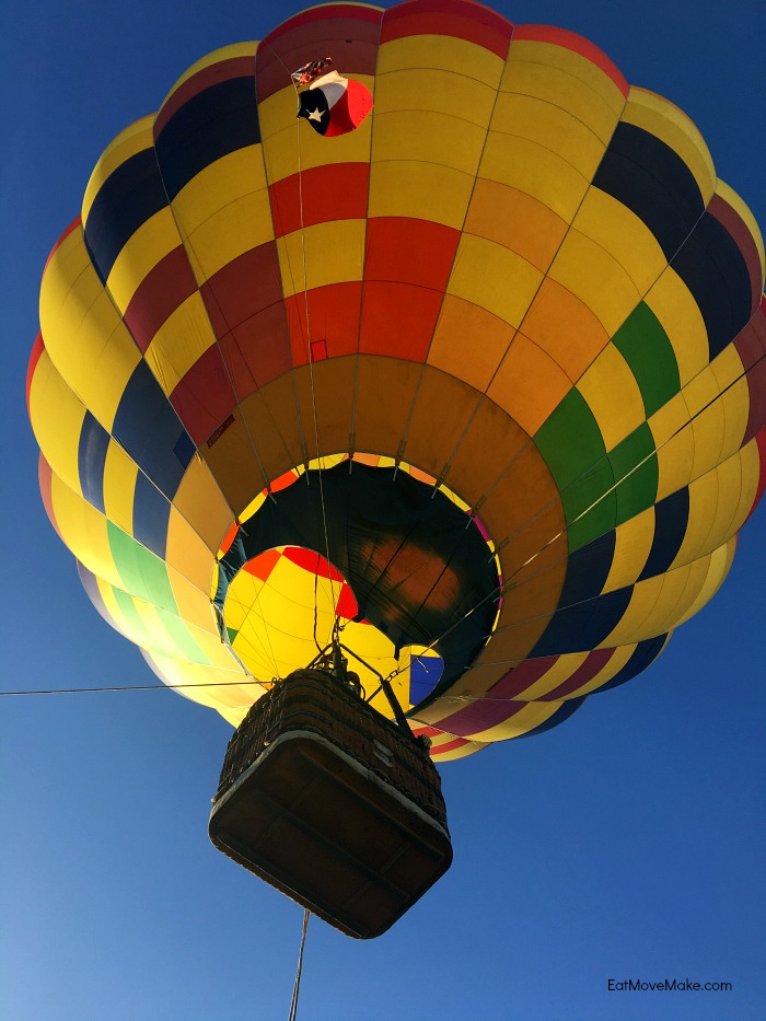 hot air balloon rides - Longview TX