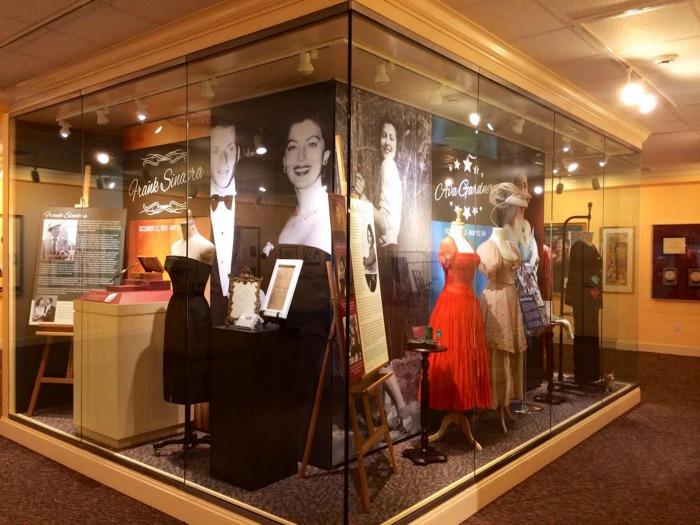 2015 Exhibit Frank Ava side - (C) Ava Gardner Museum