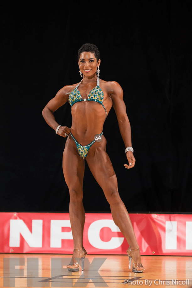 Chanelle Smith, IFBB Figure. Natural bodybuilding, female bodybuilding