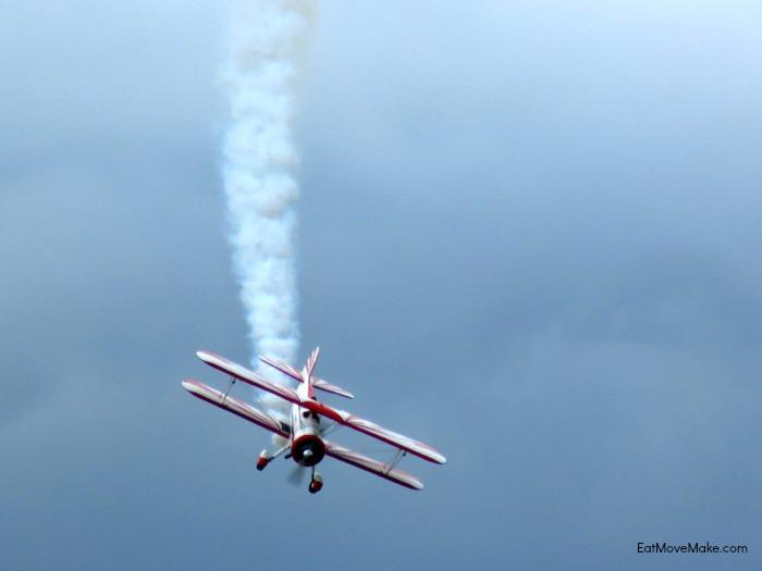 Biplane aerobatics - Cherry Point Air Show