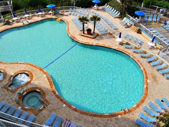 Sea Watch Resort North Tower pool view