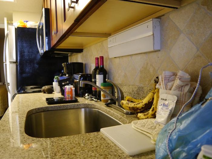 Sea Watch Resort granite kitchen