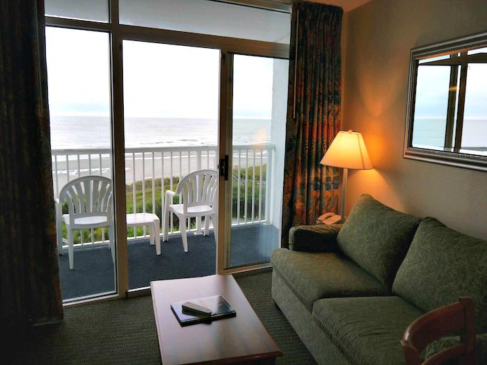 Sea Watch Resort living room