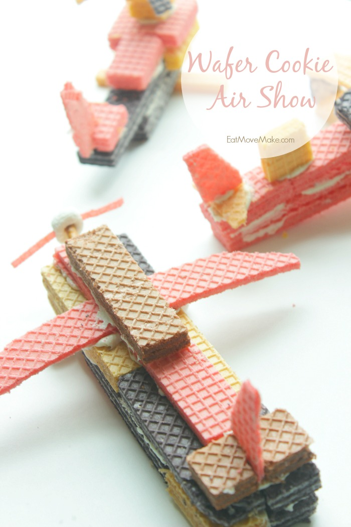 Wafer Cookie Airplanes and Wafer Cookie Helicopters - Wafer Cookie Air Show