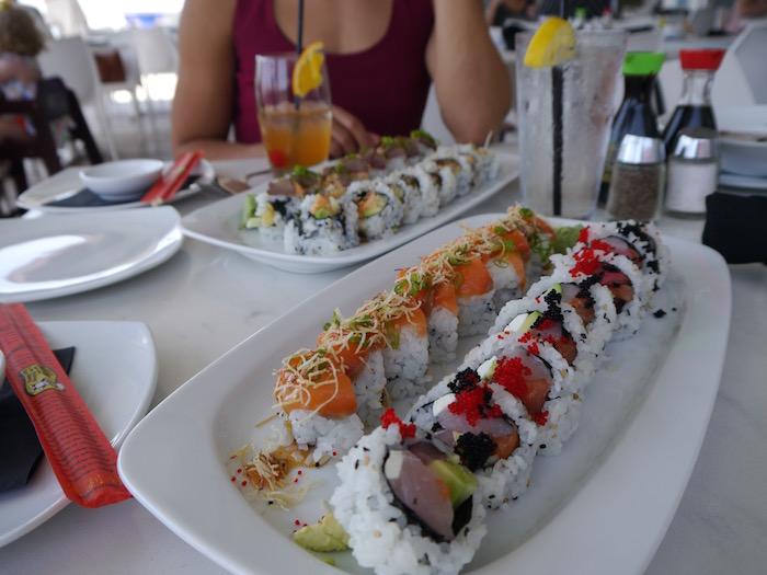 Wicked Tuna sushi