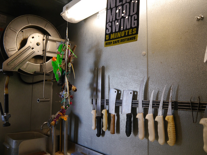 Wicked Tuna tour knives