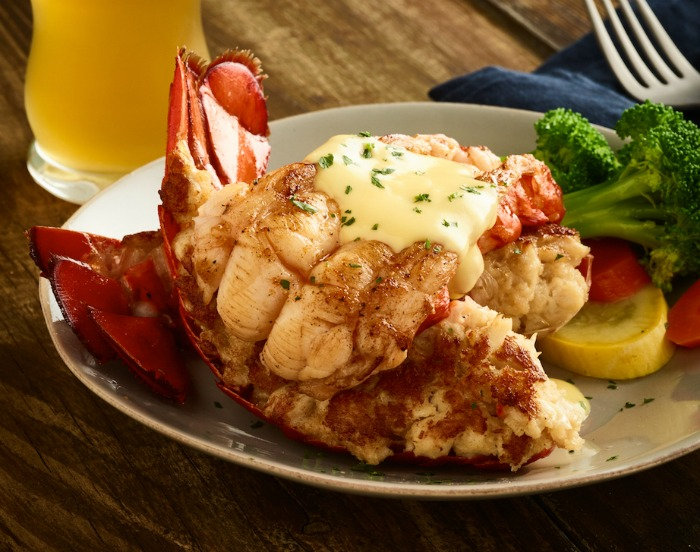 Giant Crab Stuffed Lobster Tail - Outback Steakhouse