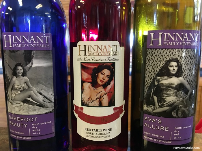 Hinnant Family Vineyards - Ava Gardner wines