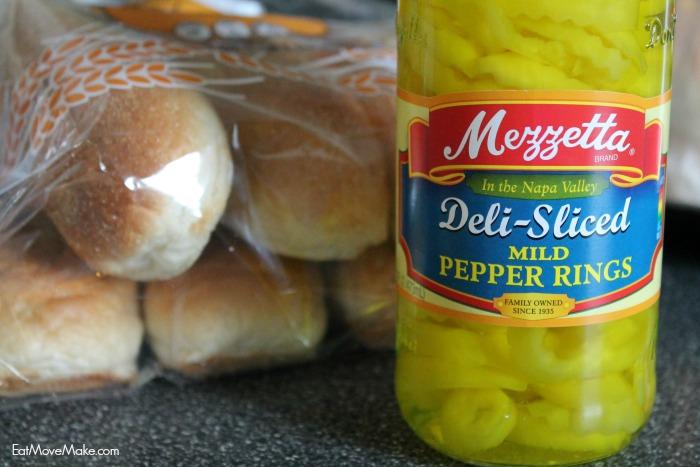 Mezzetta deli-sliced mild pepper rings