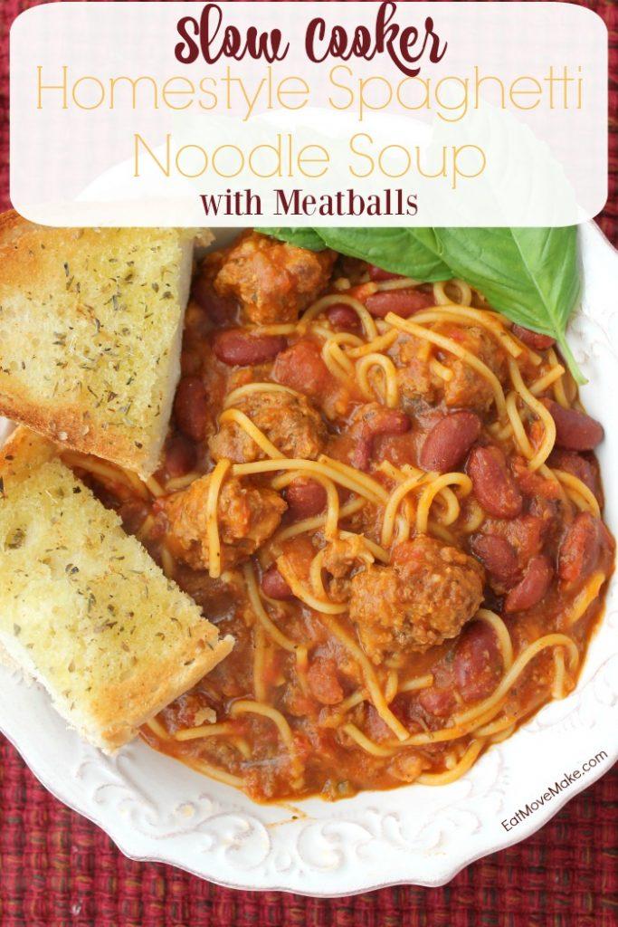 spaghetti noodle soup in bowl
