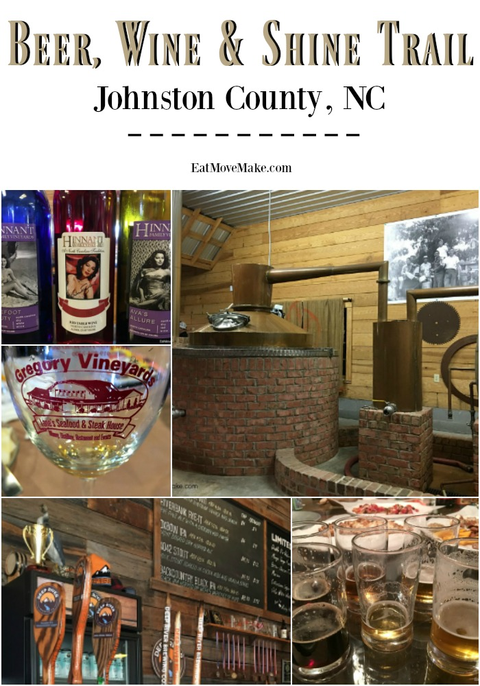 Beer, Wine & Shine Trail - Johnston County NC