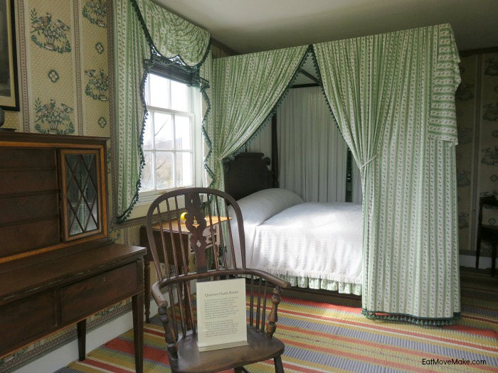 quarters guest room at Ashlawn-Highland