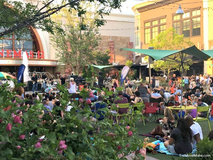 Avalon Alpharetta live music in the plaza - Avalon Nights Live