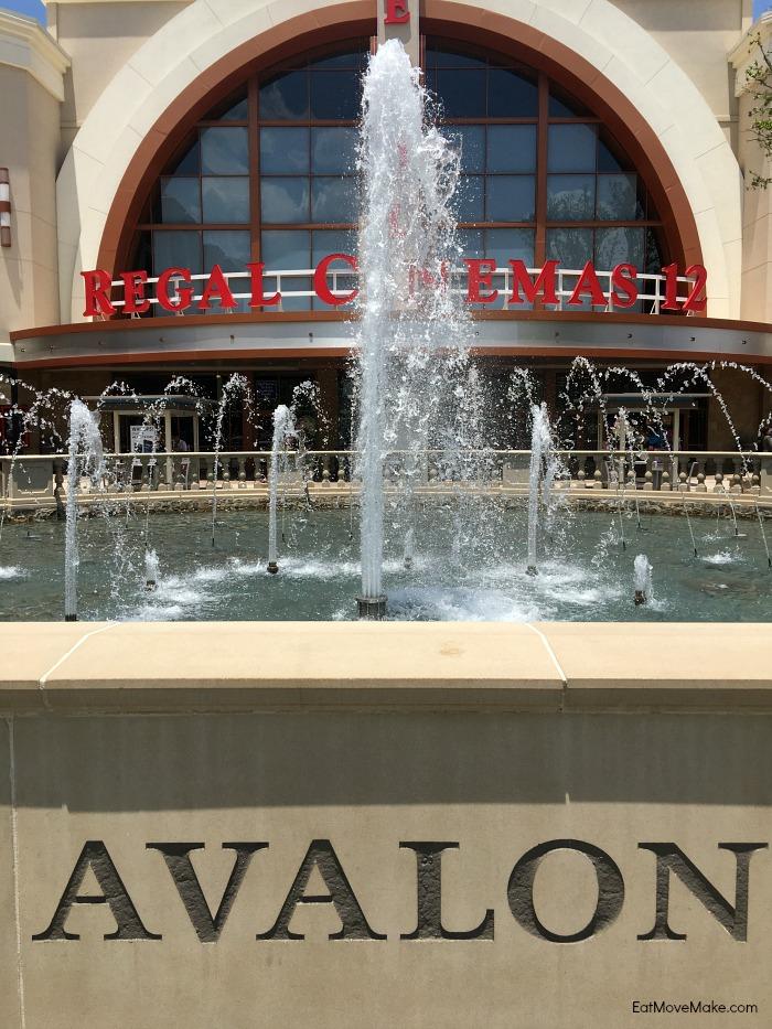 Avalon Alpharetta movie theater