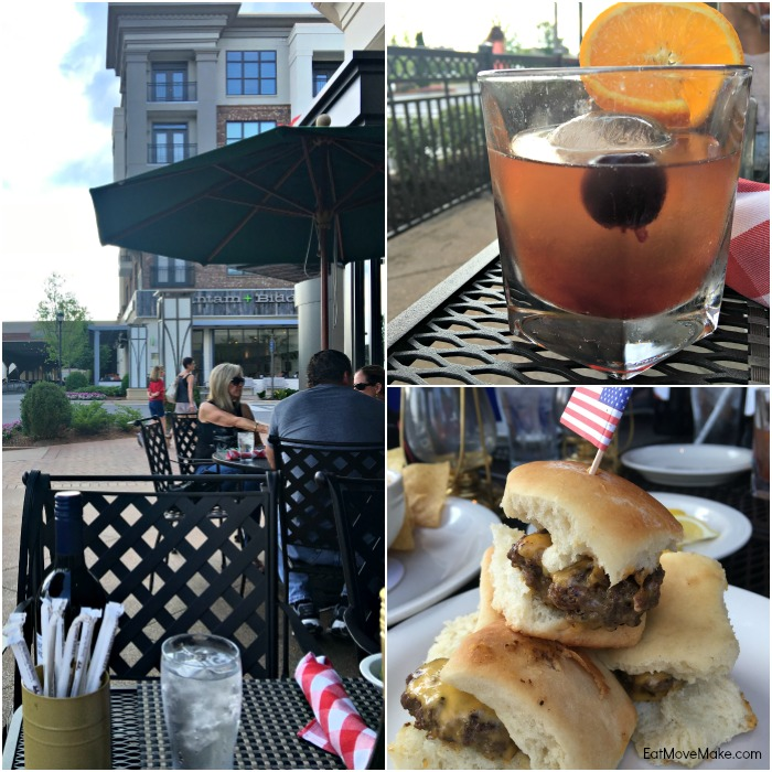 Newly Fashioned, Bison Sliders - Ted's Montana Grill - Avalon Alpharetta