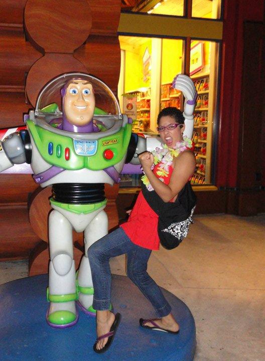 Buzz Lightyear Downtown Disney