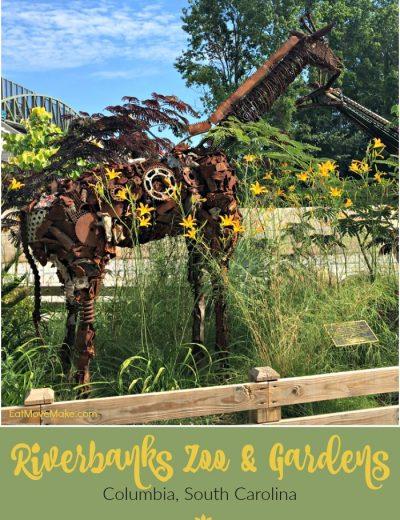 sculpture at Riverbanks Zoo