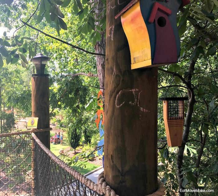children's garden tree house - Riverbanks Zoo and Gardens