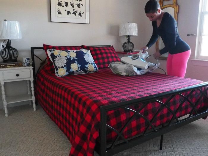 Raycop on bedding