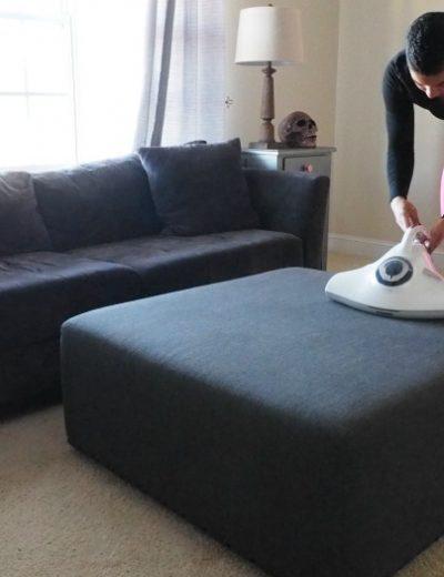 Raycop on upholstery