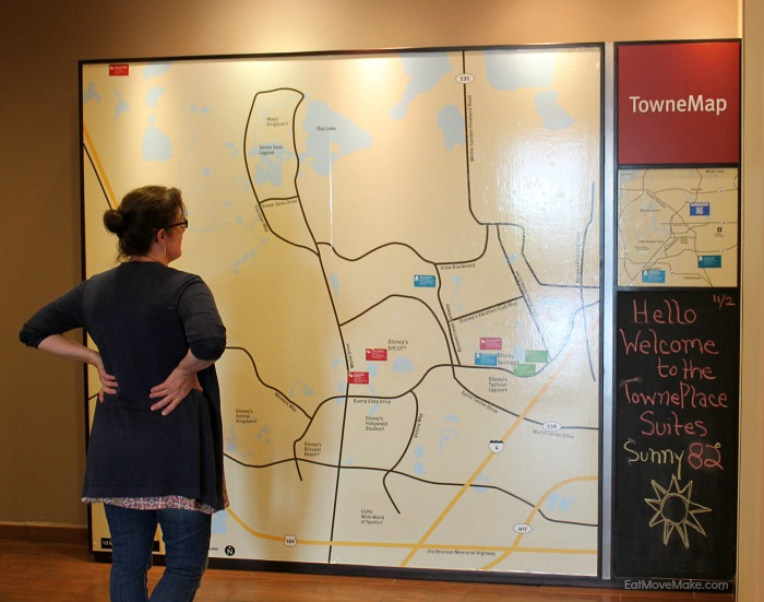 towne map at towne place suites