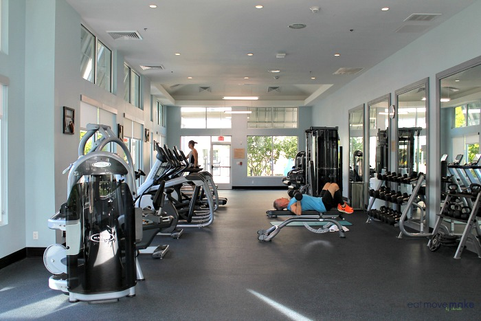 gym at TownePlace Suites Flamingo Crossings