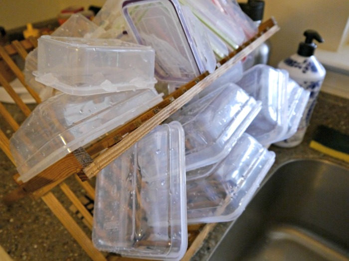 Family Dollar meal prep containers